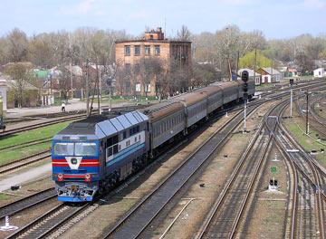 Расписание поездов москва через запорожье